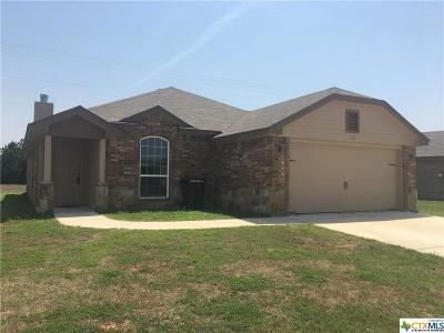 Killeen Single Family Home For Sale: 6506 Castle Gap