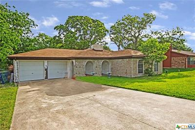 Copperas Cove Single Family Home For Sale: 617 Manning Drive