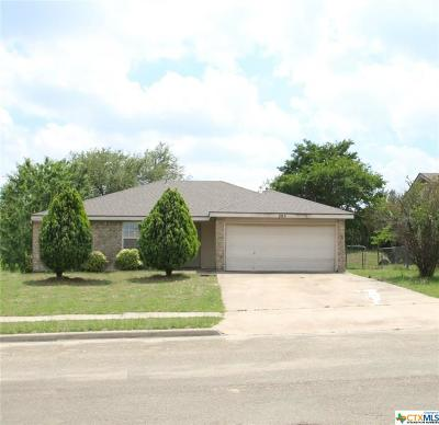 Copperas Cove Single Family Home For Sale: 205 Bronc