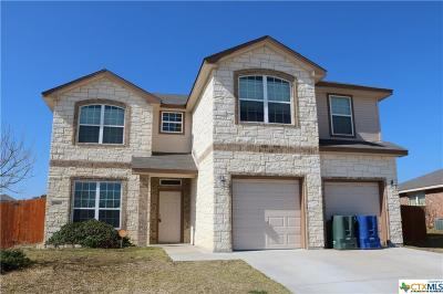 Copperas Cove Single Family Home For Sale: 1124 Dixon Circle