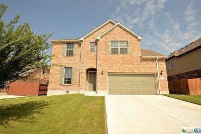 Harker Heights TX Single Family Home For Sale: $325,900
