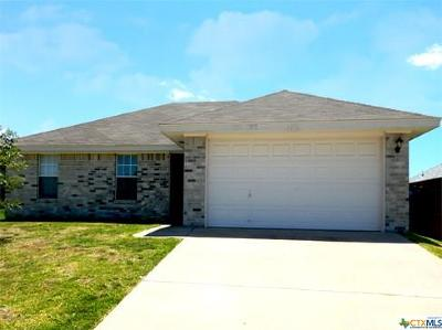 Killeen TX Single Family Home For Sale: $118,000