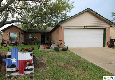Killeen Single Family Home For Sale: 2209 Pixton Drive