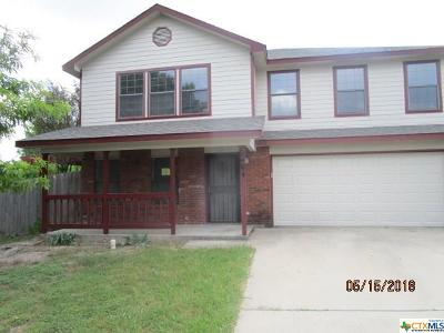 Copperas Cove Single Family Home For Sale: 2404 Crystal Circle