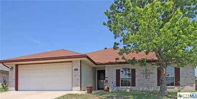 Killeen TX Single Family Home For Sale: $142,500
