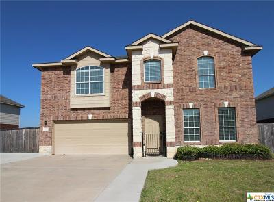 Harker Heights Single Family Home For Sale: 2510 White Moon Drive