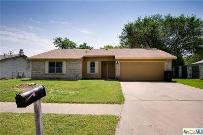 Killeen TX Single Family Home For Sale: $93,500