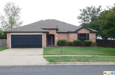 Killeen Single Family Home For Sale: 2906 Cactus Drive