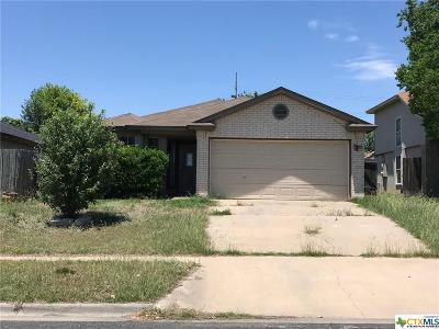 Killeen TX Single Family Home For Sale: $65,000