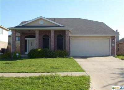 Killeen TX Single Family Home For Sale: $145,900