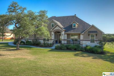 New Braunfels Single Family Home For Sale: 5636 Copper Creek