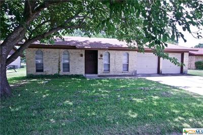 Killeen Single Family Home For Sale: 1010 Bonner Drive
