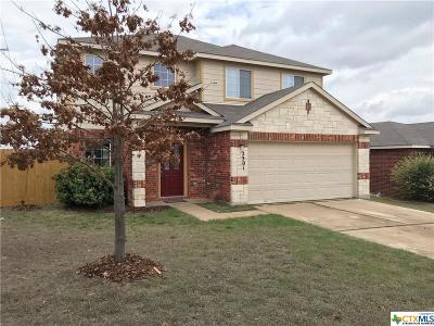 Killeen Single Family Home For Sale: 2201 Price Drive