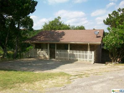 Canyon Lake Single Family Home For Sale: 142 Canteen