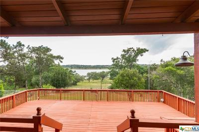 Canyon Lake Single Family Home For Sale: 1958 Lakeshore