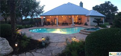 New Braunfels Single Family Home For Sale: 337 Hunters Trace