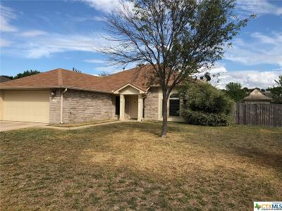 Copperas Cove Single Family Home For Sale: 1007 Judy Lane