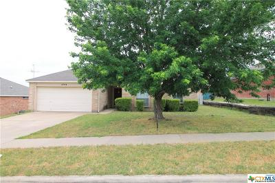 Killeen Single Family Home For Sale: 2704 Rampart Loop
