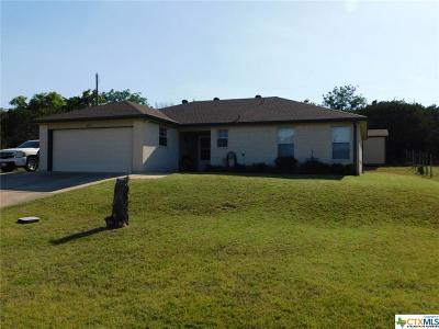 Killeen TX Single Family Home For Sale: $104,500