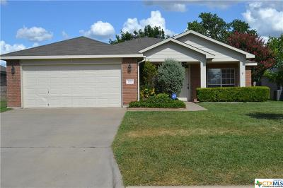Harker Heights Single Family Home For Sale: 3026 Rain Dance Loop