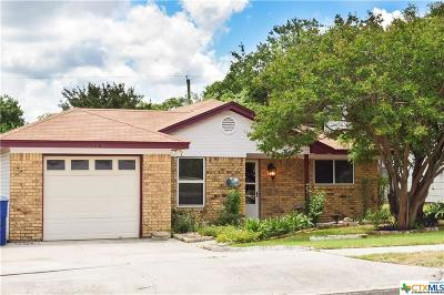 Copperas Cove Single Family Home For Sale: 112 Bridle Drive