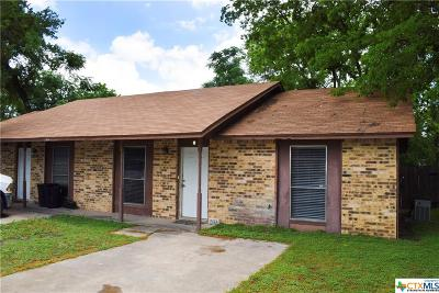 Harker Heights TX Single Family Home For Sale: $105,000