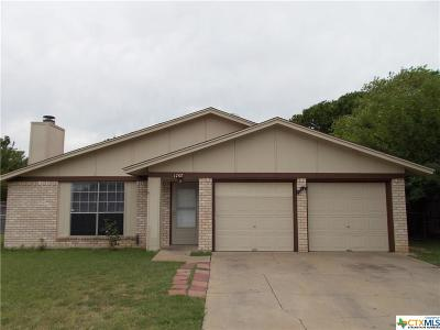 Killeen TX Single Family Home For Sale: $72,000