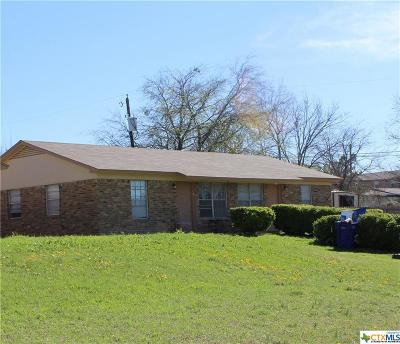 Copperas Cove Multi Family Home For Sale: 706 Hackberry Street #A-B