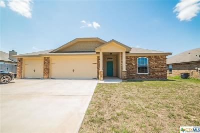 Killeen Single Family Home For Sale: 2600 Uvero Alto
