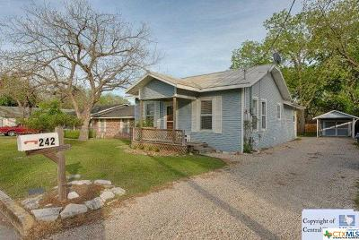 New Braunfels TX Single Family Home For Sale: $219,000