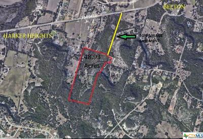 Belton Residential Lots & Land For Sale: 567 Big Valley Lane