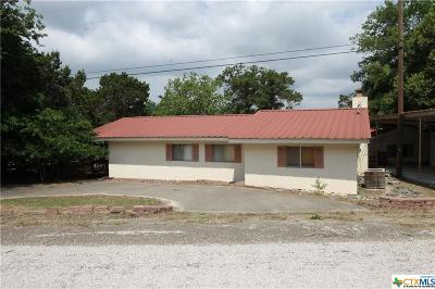 Belton TX Single Family Home For Sale: $85,000