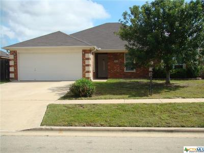 Killeen Single Family Home For Sale: 3603 Republic Of Texas Drive