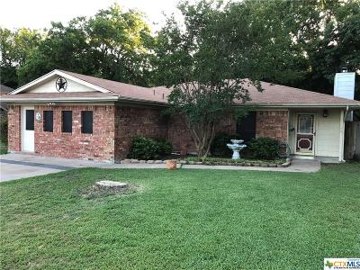 Harker Heights TX Single Family Home For Sale: $129,900