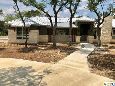 Canyon Lake TX Single Family Home For Sale: $389,000