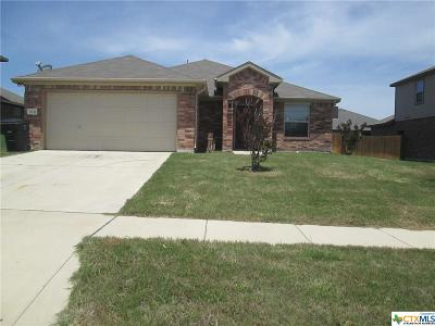 Killeen Single Family Home For Sale: 3611 Joyce