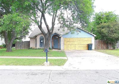 Killeen TX Single Family Home For Sale: $55,000