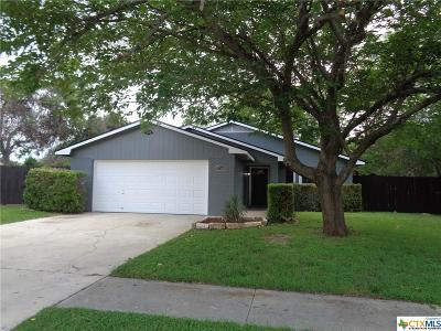 Killeen Single Family Home For Sale: 1708 Goode Drive
