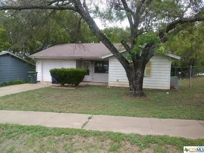 Copperas Cove Single Family Home For Sale: 703 N 19th