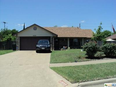 Killeen Single Family Home For Sale: 4202 Mesa Drive