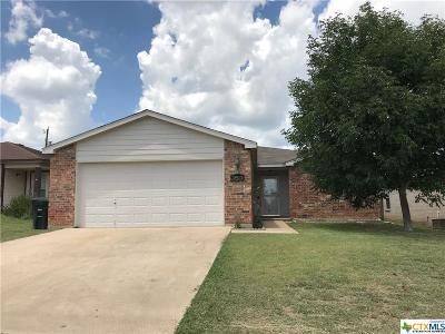 Killeen Single Family Home For Sale: 3903 Sunflower
