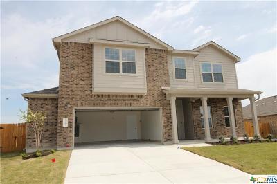 Killeen Single Family Home For Sale: 3705 Endicott