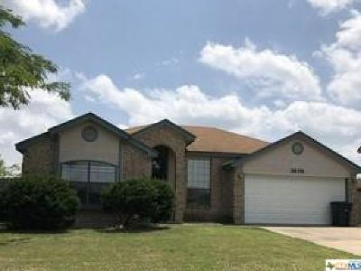 Killeen Single Family Home For Sale: 3606 Rainforest