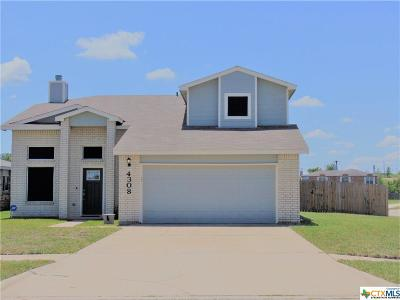 Killeen Single Family Home For Sale: 4308 Sunflower