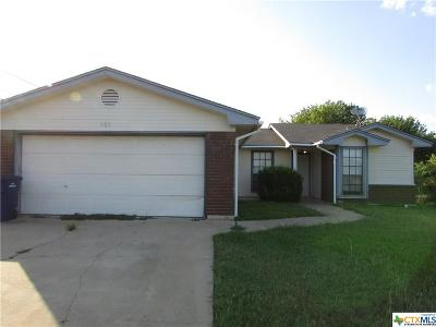 Copperas Cove Single Family Home For Sale: 101 Blanket