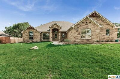 Belton Single Family Home For Sale: 18 Riverstone Parkway