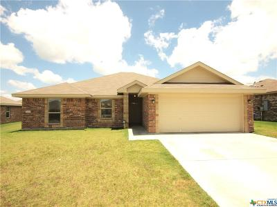 Copperas Cove TX Single Family Home For Sale: $160,000