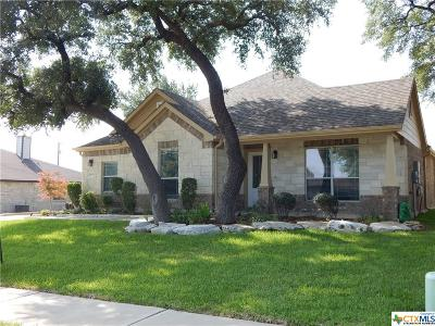 Killeen Single Family Home For Sale: 6106 Cobalt