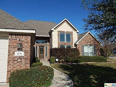 Temple Single Family Home For Sale: 406 Wyndham Hill