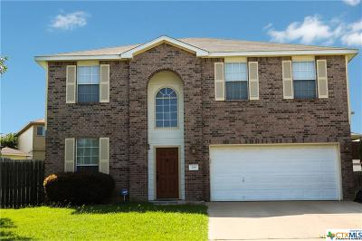 Harker Heights Single Family Home For Sale: 219 Tepee Drive